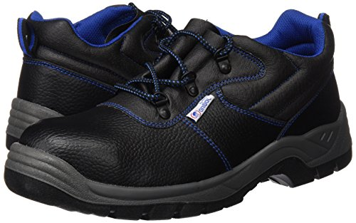 Anibal Uxama - Zapato piel serraje perforada (46, seguridad)