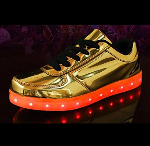 Up Colors towel 7 JUNGLEST Led small Gold Light Present Trainers gxT8qO