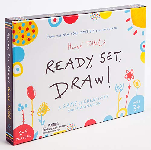 Chronicle Books Ready, Set, Draw!: A Game of Creativity and Imagination (Drawing Game for Children and Adults…