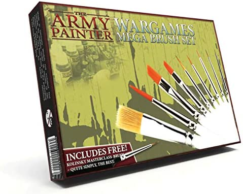 Most Wanted Brush Set 2019 Army Painter Pinsel Pinselset