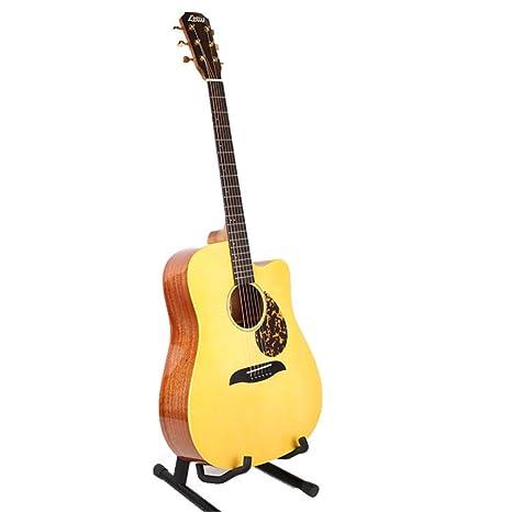 "Igspfbjn Guitarra acústica de madera de corte total de 41""para mujeres niñas principiantes ("