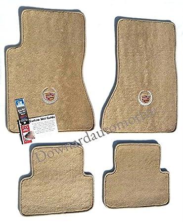 tan carpet floor. Cadillac CTS Beige (Tan) Carpet Floor Mats 4Pc-Licensed Crest Logo - Tan