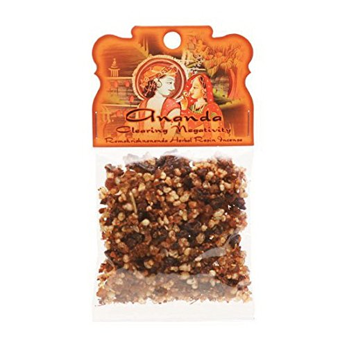 Resin Incense Ananda - Clearing Negativity - 1.2oz bag