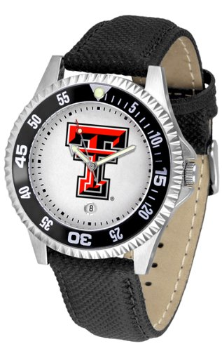 (Texas Tech Red Raiders Competitor Men's Watch by Suntime)