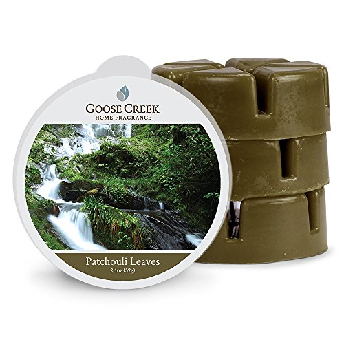 Goose Creek Wax Melts Home Fragrance Scented Wax Melts, Patchouli Leaves Melt,Three Pack Eighteen Melts