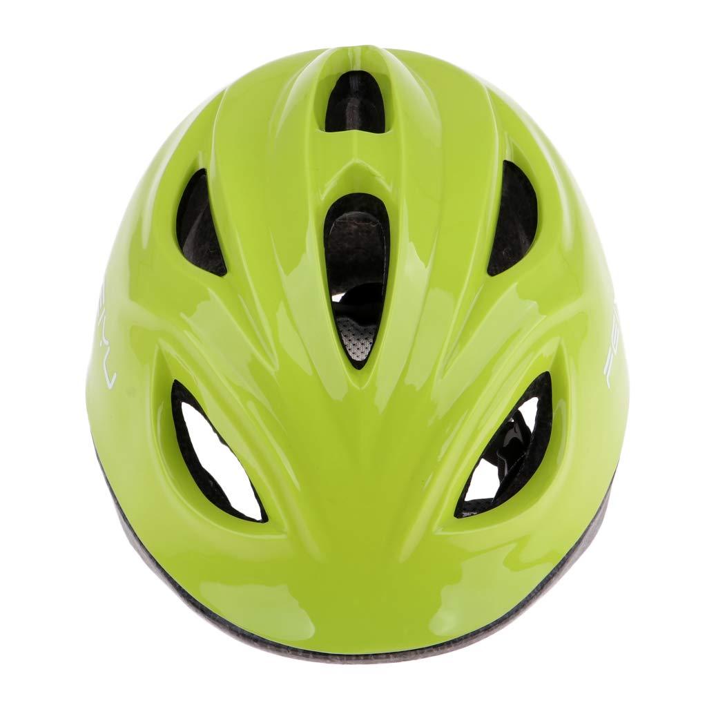 P Prettyia 1 Pc de Casco de Protección de Cabeza para Niños Accesorio Protectivo para Ciclismo de Carretera y Montaña - Rojo Oscuro