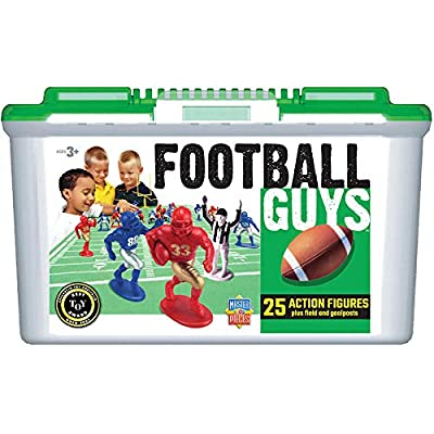 MasterPieces Football Guys - Blue vs. Red Imaginative Play for Ages 3 to 9: Toys & Games