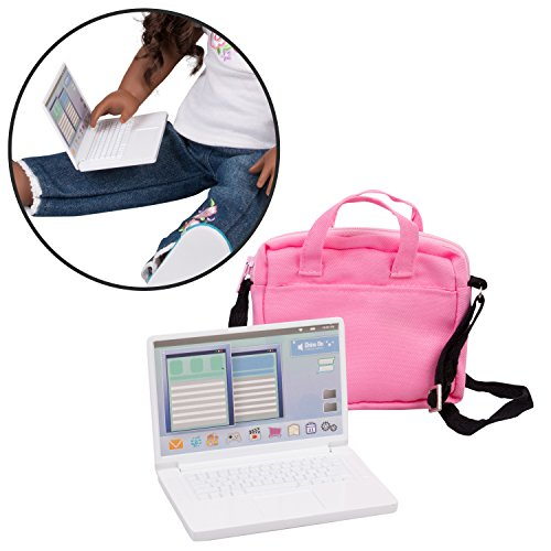 Dress Along Dolly Metal Computer Laptop with Carrying Bag...