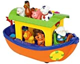 Kikkieland Discovery Noahs Ark With Motor Engine And Horn Sound,Sweet Melodies,Colourful Piano And Removable Animals by Kiddieland Toys Limited