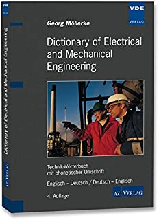 Engineering Dictionary Elektrotechnik Maschinenbau Technik