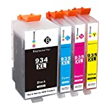 GPC 934 935 XL Ink Cartridge (Updated Chip) Compatible for HP 934XL 935XL for HP Officejet Pro 6230 6812 6815 6830 6835 Printer