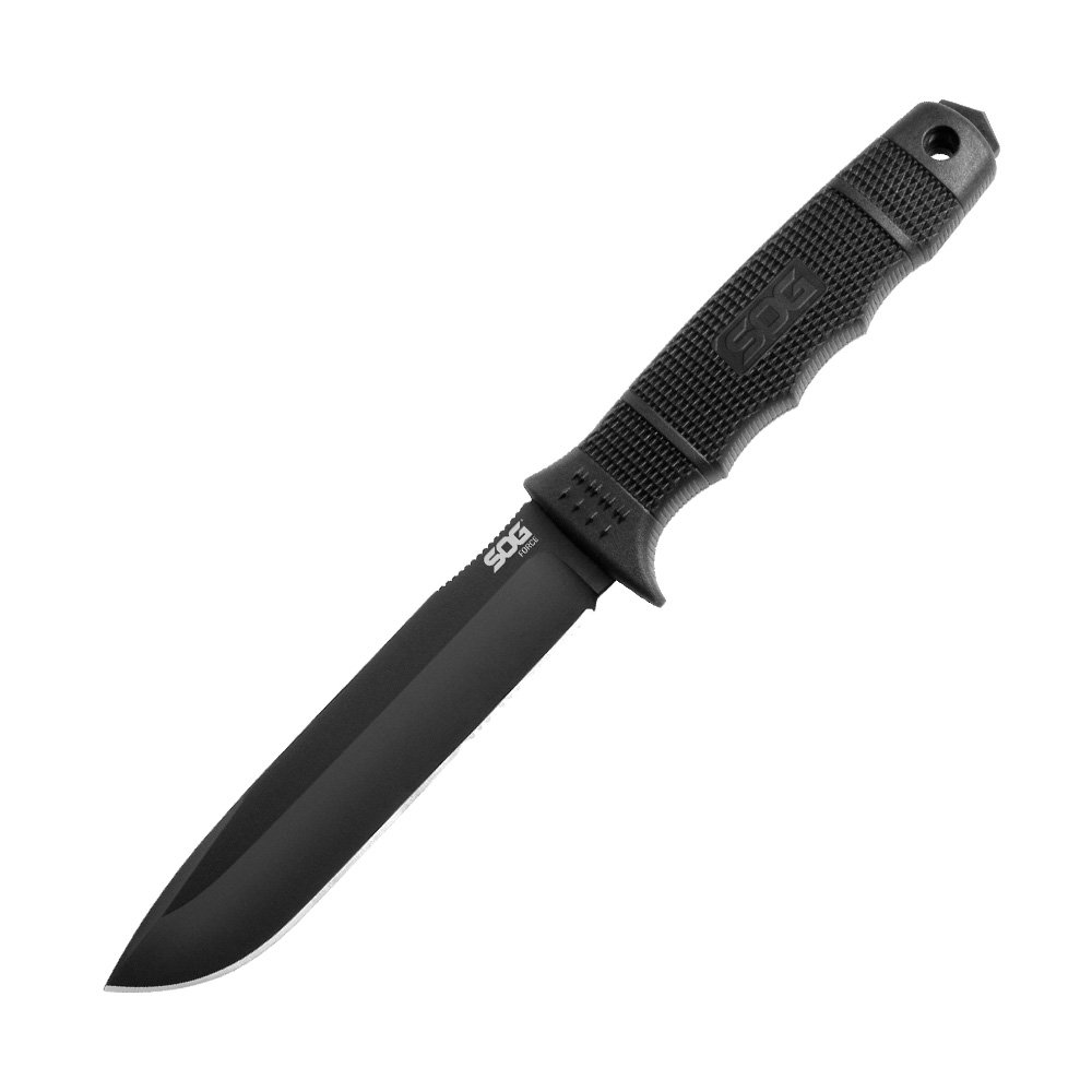 5. SOG FORCE FIXED BLADE SE38-N BLACK