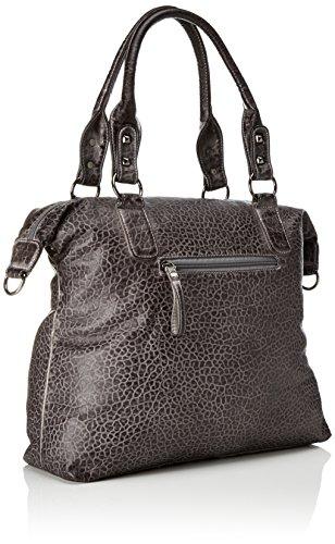 Sansibar Shopper Bag - Bolsos maletín Mujer Gris (Dim Grey)