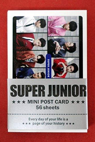 SUPER JUNIOR - MINI POSTCARD PHOTOCARD SET 56pcs