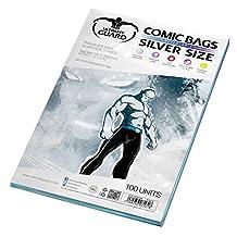 Ultimate Guard Resealable Silver Comic Bags