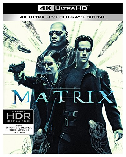 4K Blu-ray : The Matrix (With Blu-Ray, 4K Mastering, 3 Pack, Dolby, 3PC)