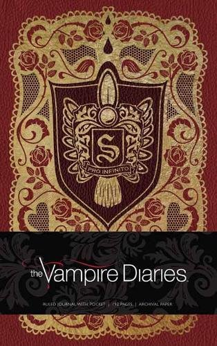 The Vampire Diaries Hardcover Ruled Journal (Insights Journals) [Insight Editions] (Tapa Dura)