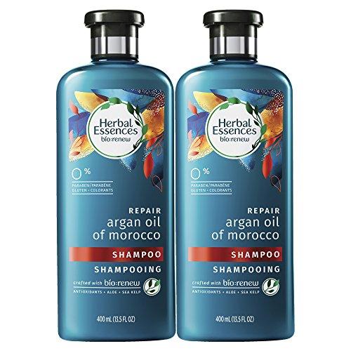 Herbal Essences, Shampoo, BioRenew Argan Oil of Morocco, 13.5 fl oz, Twin Pack