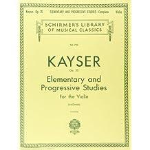 36 Elementary & Progressive Studies, Op. 20 (Complete): Violin Method