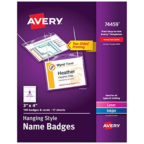 Avery Name Badges with