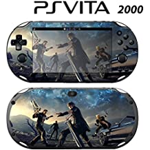 Skin Decal Cover Sticker for Sony PlayStation PS Vita Slim (PCH-2000) - Final Fantasy XV