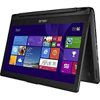 Asus 13.3 Inch Flip Convertible 2 in 1 Laptop with HD Touchscreen Display, Core i3-4030U Processor,6GB DDR3,500GB HDD,Windows 8(Certified Refurbished)