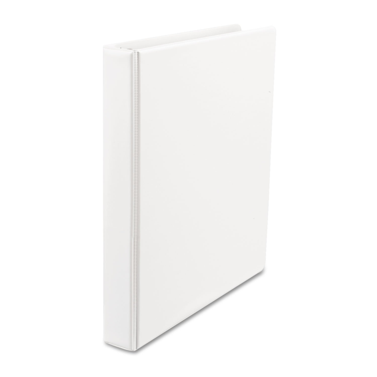 minoristas en línea Suede Finish Vinyl Round Ring Binder, 1 Capacity, White, White, White, 12/Carton, Sold as 1 Carton  diseño único