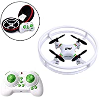 Dowellin D1 Pocket Mini Drone 2.4Ghz 4CH 6-Axis Headless Gyro RC Quadcopter One Key Return With LED Lights