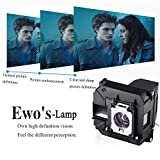 EWO'S Projector Lamp Bulb for Elplp60/v13h010l60