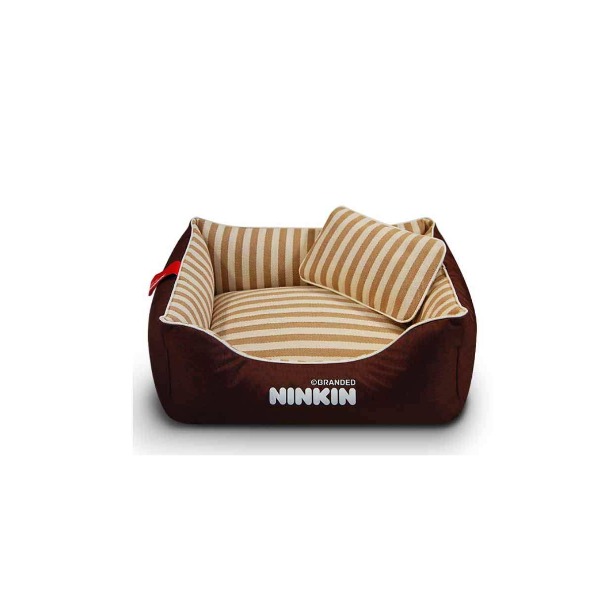 Kennel, Cat Kennel, Pet Nest, Fully Removable and Washable Teddy golden Maosamo Large and Medium-Sized Dogs, Pet Beds, Kennels, Large Dogs, Cat Litter (color   Brown, Size   XL)