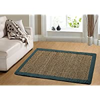 Chesapeake Merchandising 11767 Seagrass Comfortable Area Rug, 24 in. x 36 in, Teal