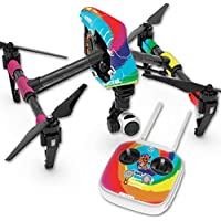 Skin For DJI Inspire 1 Quadcopter Drone – Deadhead | MightySkins Protective, Durable, and Unique Vinyl Decal wrap cover | Easy To Apply, Remove, and Change Styles | Made in the USA