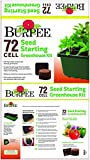 Burpee 72 Cell Seed Starting Greenhouse Kit, One