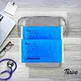 Reusable Crystal Blue Gel Ice Cold Pack Compress