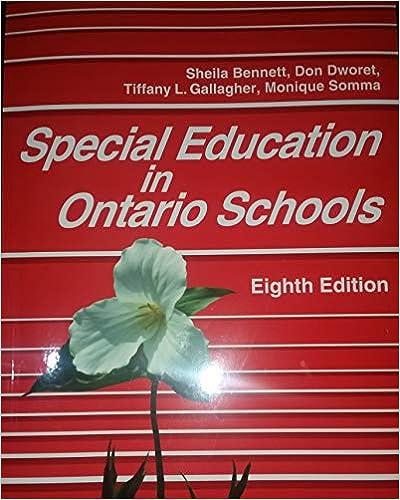 Special education in Ontario schools