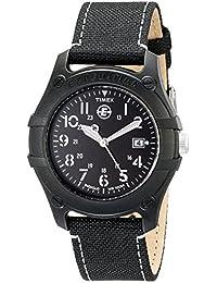 Men's T49689 Expedition Camper Black Nylon Strap Watch