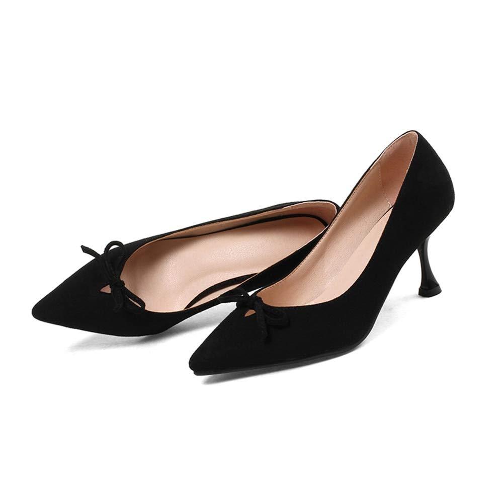 MENGLTX High Heels Sandalen Frauenpumpen Frühling Sommer Mode Flach Süß Süß Rosa Hochzeit Schuhe Elegante Bowknot High Heels Schuhe An B07QL1FDKP Sport- & Outdoorschuhe Feinbearbeitung