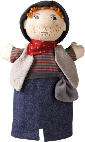 HABA Bandit Glove Puppet Plush