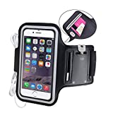 Avantree iPhone 6 6s plus Armband, Running Armband, Water Resistant, Jogging Sports Armband for Galaxy S6 Note 5 Nexus 6P Moto X OnePlus 2 - Armor