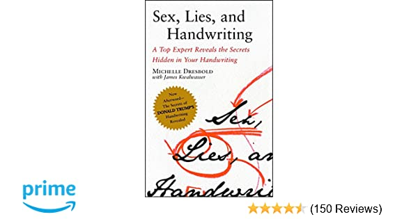 Expert handwriting handwriting hidden in lie reveals secret sex top