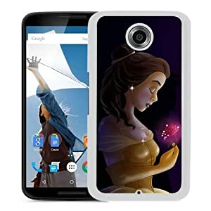 Grace Protactive beauty and the beast White Case Cover for Google Nexus 6