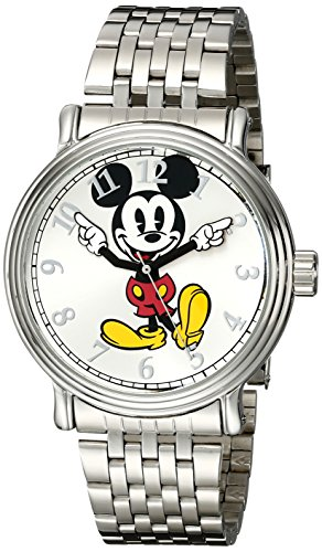 Disney Men's W001851 Mickey Mouse Analog Display Analog Q...