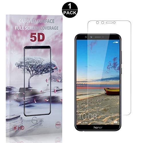Huawei Honor 9 Lite Screen Protector Tempered Glass, Bear Village Premium Screen Protector, 9H Scratch Resistant Screen Protector Film for Huawei Honor 9 Lite, 1 Pack