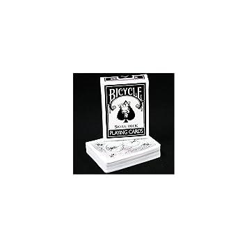 Bicicleta cráneo baraja de naipes - magia negra Bicycle ...