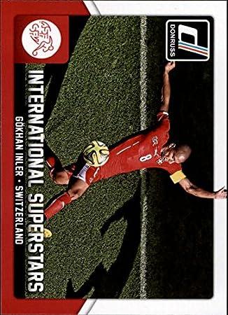 2015 Donruss International Superstars #18 Gokhan Inler Soccer Card at Amazons Sports Collectibles Store