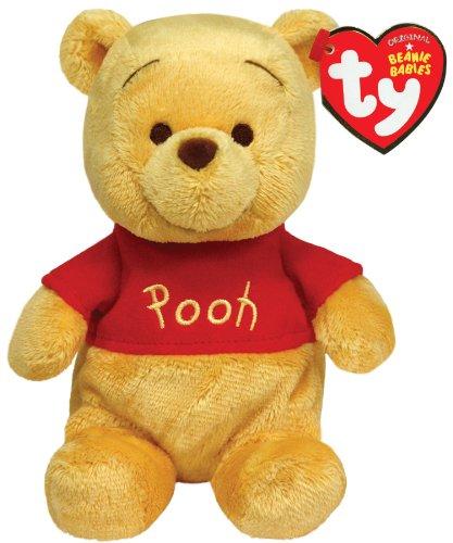 Pooh Plush Beanie (Ty Beanie Babies Winnie The Pooh Plush, Classic Bear)