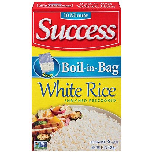 Success Boil in Bag White Rice, 14 oz