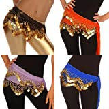 Wholesale Lots of 10 Chiffon Belly Dance Hip Scarf (Model LC)
