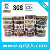 2290 China Wholesale jiataihe washi Tape Removable Romania DIY Scrapbook Solid Color Adhesive Triangle Rose DIY 90pcs/lot