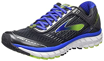 Brooks Ghost 9 Anthracite/Electric Brooks Blue/Lime Punch 13